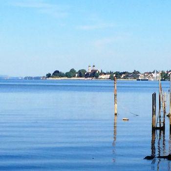 Ferienwohnung mit Privatstrand Bodensee
