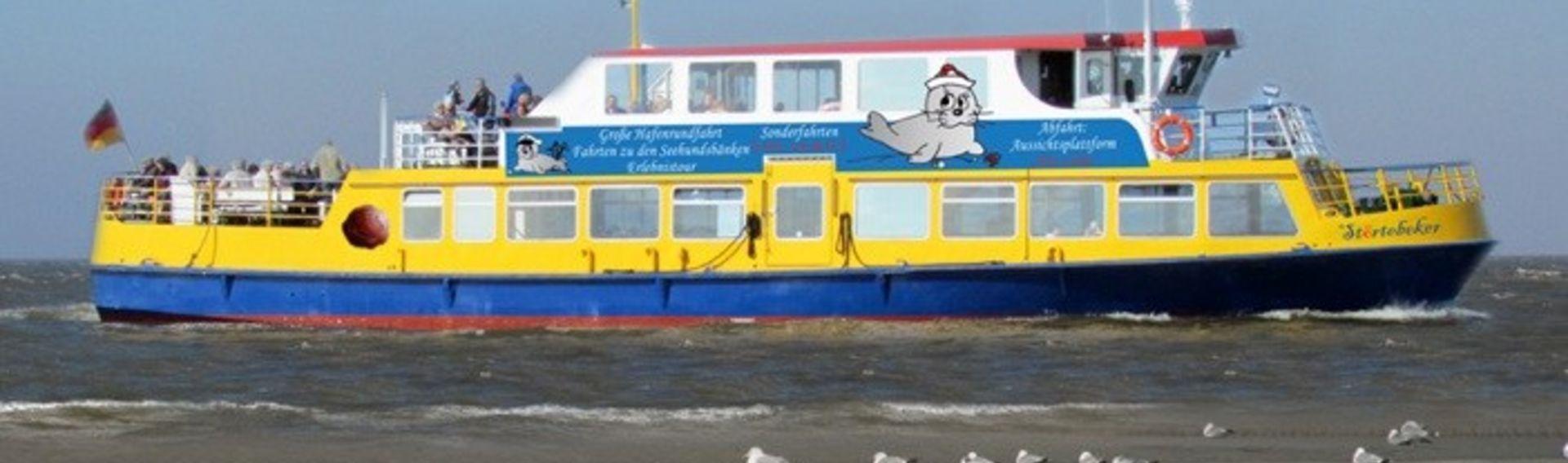 Schifffahrt und Hafenrundfahrt Cuxhaven mit Hund