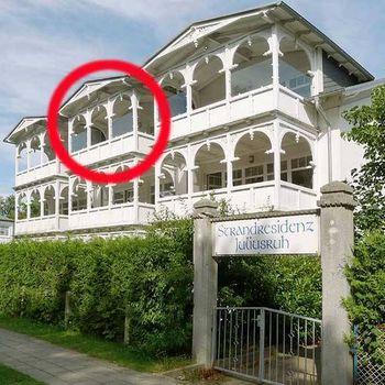 2-Zimmer-Ferienwohnung im Seebad Juliusruh auf Rügen