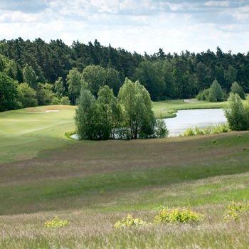 Golfpark Schloss Wilkendorf mit Hund