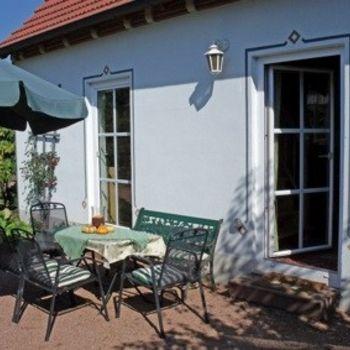 Gemütliches Ferienhaus in Thüringen – eingezäunter Garten