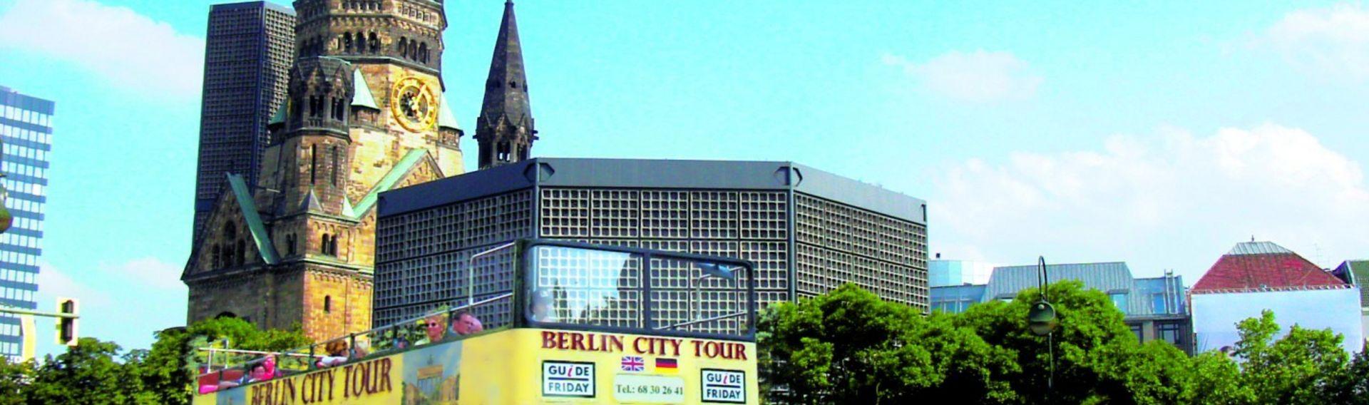 Berlin Stadtrundfahrt offener Bus