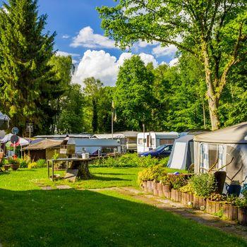 Camping mit Hund NRW