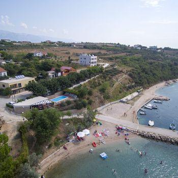 Camping mit Hund Kroatien Odmoree Zadar