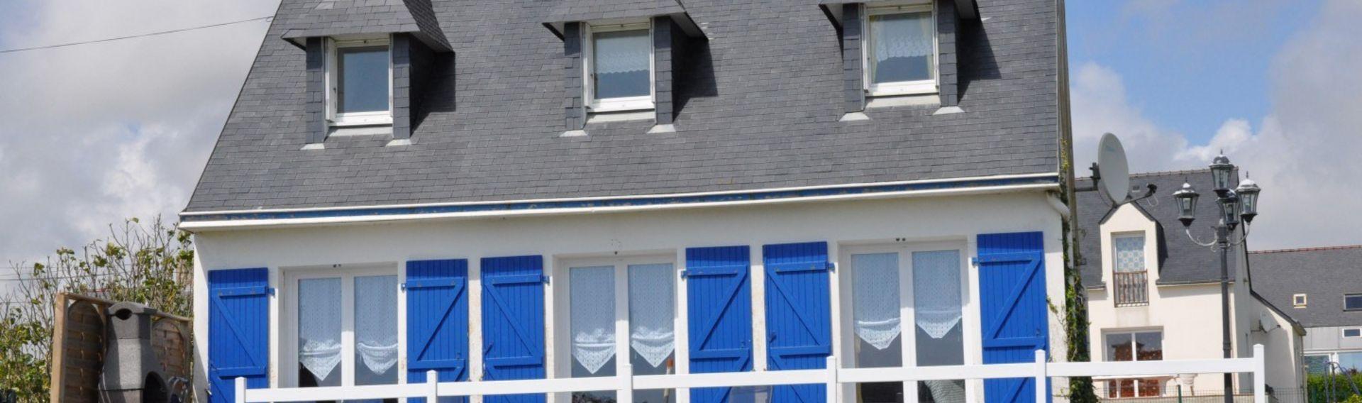 Ferienhaus Bretagne mit Hund und Meerblick inklusive