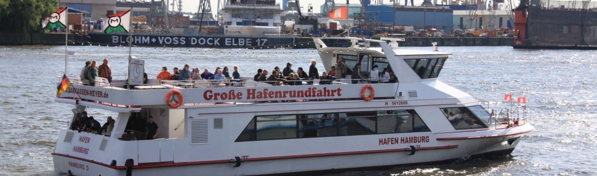 Hafenrundfahrt Hamburg mit Hund