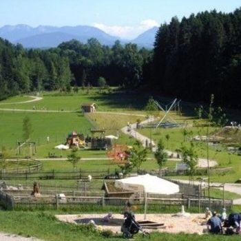 Familienausflug Bayern zum Bergtierpark