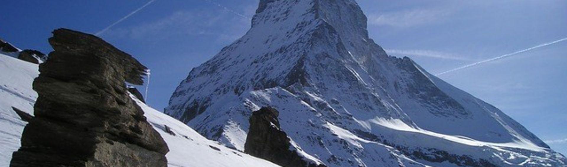 Winterurlaub Schweiz mit Hund – Hundeloipe Goms