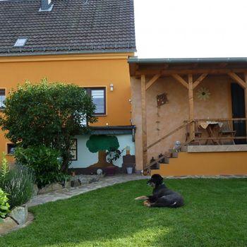 FeWo Feenhaus Urlaub mit Hund Erholung im Hunsrück