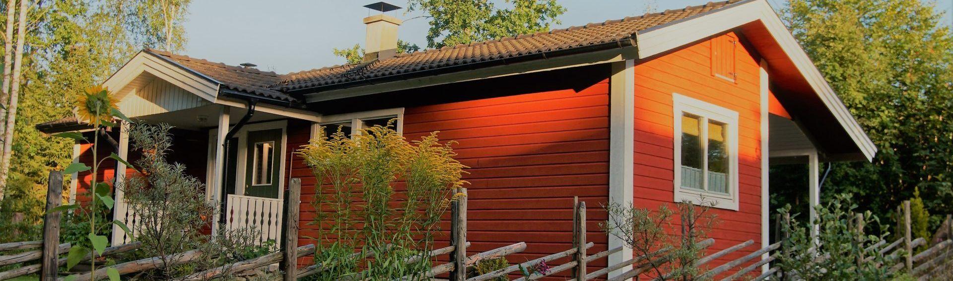 Wohlfühl-Ferienhaus Hubi in Südschweden mit Hund