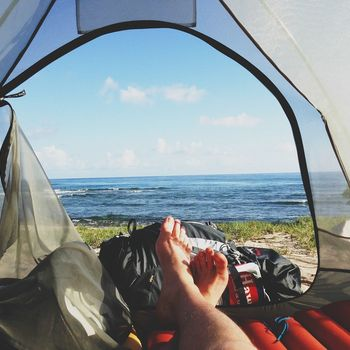 Luxus Camping